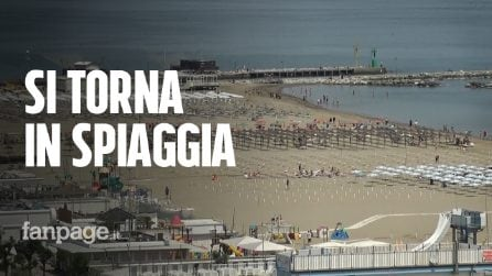 """In Emilia-Romagna si torna in spiaggia: """"Non tutti gli stabilimenti sono pronti, ma siamo ottimisti"""""""