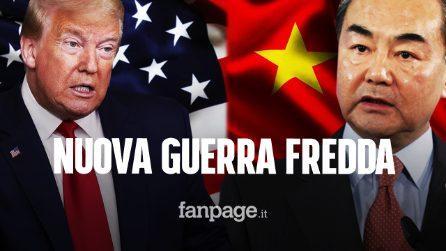 """La Cina avverte: """"Sull'orlo di una nuova Guerra Fredda con gli Stati Uniti"""""""