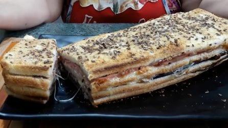 Plumcake salato con il pancarrè: la ricetta veloce e squisita