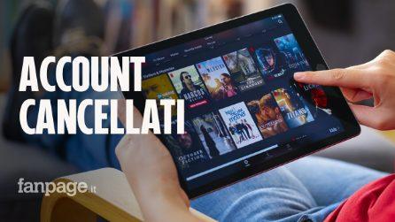 Netflix cancellerà automaticamente centinaia di migliaia di account: ecco quali