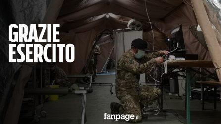 """Addio all'ospedale da campo a Crema, ministro Guerini: """"Orgoglioso del lavoro fatto dall'Esercito"""""""