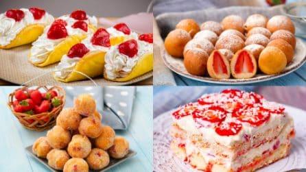 5 Ricette con le fragole che conquisteranno grandi e piccini!