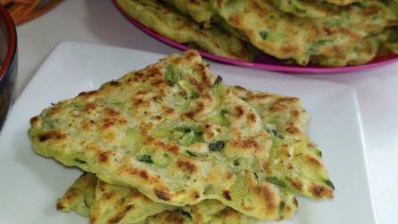 Pane alle zucchine cotto in padella: la ricetta senza lievitazione che amerete