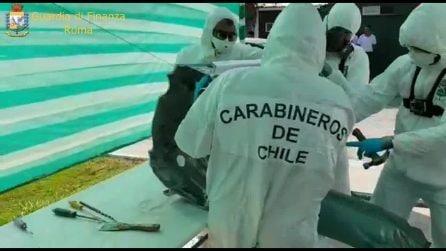 Sgominata una banda di narcotrafficanti: la cocaina trasportata dal Perù a Roma nelle moto d'acqua