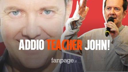 Morto John Peter Sloan: il comico insegnante di inglese più famoso d'Italia si è spento a 51 anni