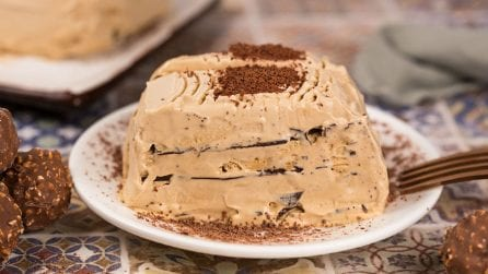 Coffee mousse log: how to make a creamy dessert with a few ingredients!