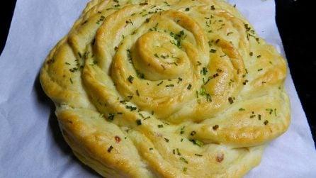 Rosa di pane: la ricetta bella e saporita da fare in casa