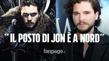 "Game of Thrones, Kit Harington: ""Jon Snow non poteva sedere sul Trono di Spade"""