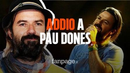 È morto Pau Dones, cantante degli Jarabe de Palo: aveva 53 anni