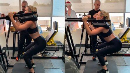La potenza e il gran fisico di Lindsey Vonn: l'allenamento è durissimo
