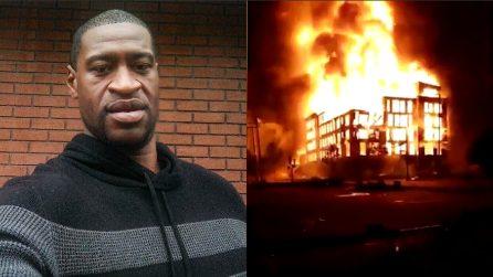 George Floyd, ancora saccheggi e incendi: situazione fuori controllo