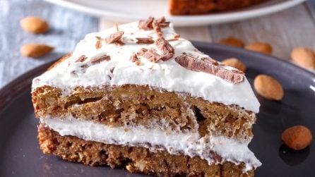 Torta cioccolato e mandorle: il dessert soffice che conquisterà tutti