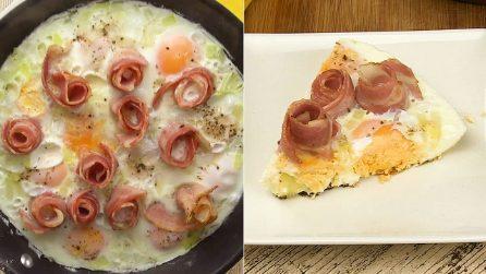 Uova a occhio di bue e bacon: il piatto perfetto per una cena piena di sapore!