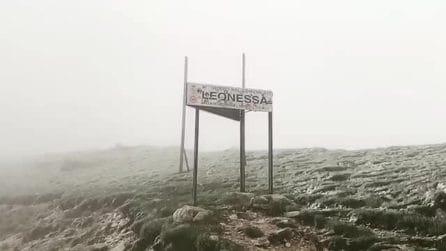 Terminillo, le immagini della nevicata di fine maggio