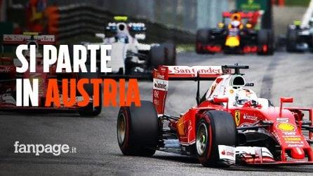 Ufficiale, Formula 1: si parte in Austria il prossimo 5 luglio con due Gp