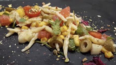 Insalata di pasta fredda: la ricetta del primo piatto gustoso