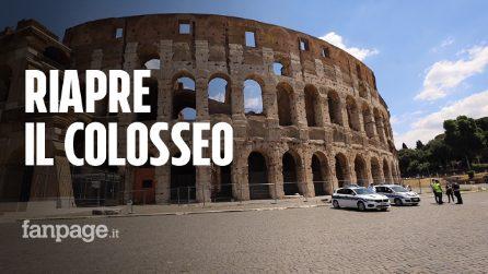 """Roma, oggi riapre il Colosseo dopo 84 giorni. La gioia dei romani: """"Finalmente è tutto per noi"""""""