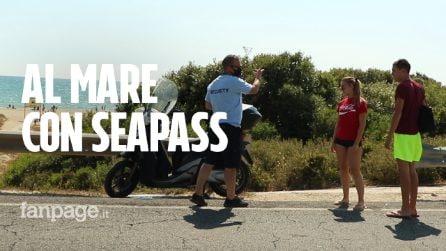 """A Ostia in spiaggia con l'app Seapass: """"Andiamo al mare mantenendo le distanze"""""""