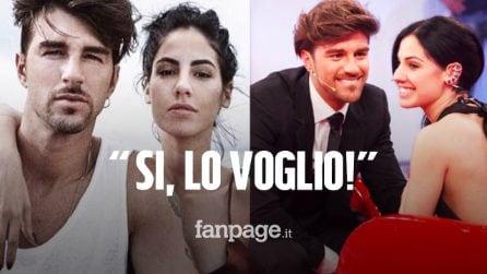 Andrea Damante avrebbe chiesto a Giulia De Lellis di sposarlo: i Damellis vicini alle nozze