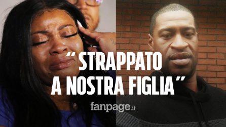 """L'ex compagna di George Floyd: """"Lo hanno strappato a nostra figlia Gianna, ha solo 6 anni"""""""
