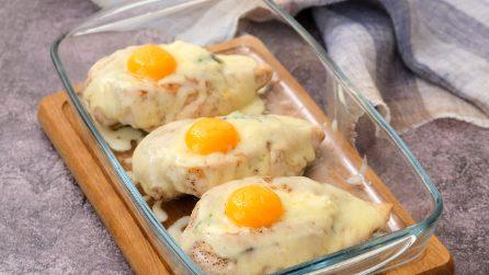 Tasche di pollo ripiene di ricotta e spinaci: la ricetta facile e veloce per un piatto completo