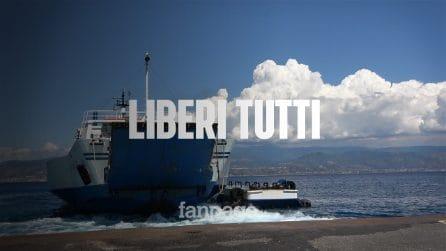 Riapre lo stretto di Messina, code di auto ma nessuno controlla la temperatura all'imbarco