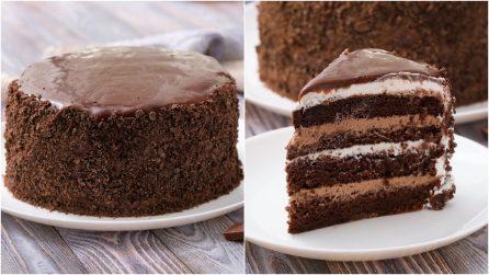Torta al cioccolato cremosa: umida, irresistibile e perfetta per ogni occasione!