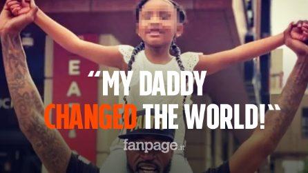 """""""Il mio papà ha cambiato il mondo"""" le toccanti parole della piccola Gianna, figlia di George Floyd"""