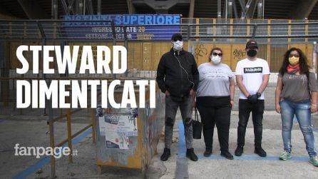 """Steward dello stadio, 20mila senza lavoro da 4 mesi causa Covid19: """"Noi, dimenticati da tutti"""""""