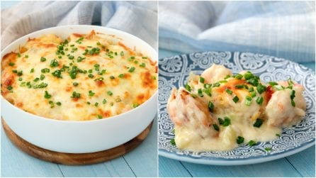 Seafood potatoes au gratin: this recipe is a must-try!