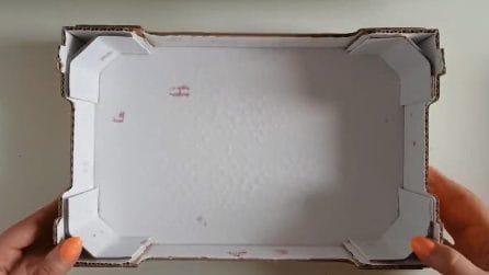 Come riutilizzare la scatole di cartone in maniera creativa