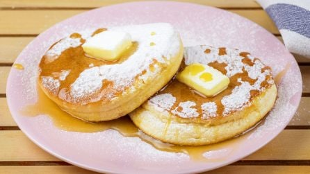 Cloud pancakes: you've never had them so fluffy and mouth-watering!