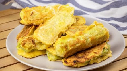 Fried cabbage rolls: a unique dinner ready in no-time!