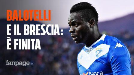Mario Balotelli e il Brescia, è finita: rescissione del contratto
