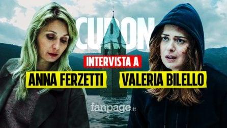 """Intervista a Valeria Bilello e Anna Ferzetti: """"Curon è una sfida, è un genere che in Italia non c'è"""""""