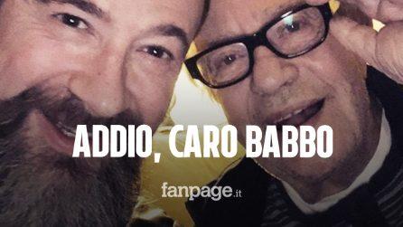 """Lutto per Marco Masini, morto il papà Giancarlo: a lui dedicò la famosa canzone """"Caro Babbo"""""""