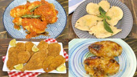 4 Modi diversi di preparare il pollo, ma tutti incredibilmente buoni!