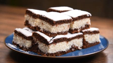Coconut chocolate cake: it's impossibile to resist!