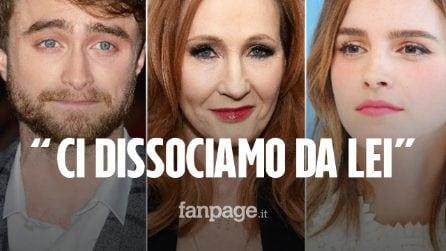 Tweet sulle donne trans di J. K. Rowling: Daniel Radcliffe e Emma Watson si dissociano pubblicamente