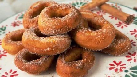 Ciambelline fritte: la ricetta semplice per averle perfette e soffici