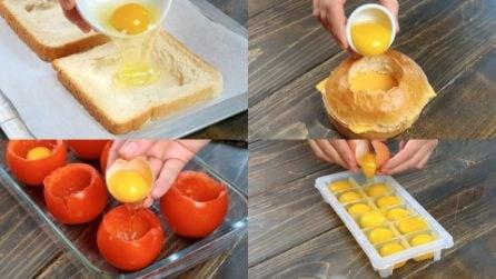 6 Modi di usare le uova che proprio non ti aspettavi!