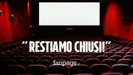 """I cinema resteranno chiusi, gli esercenti: """"Immotivato l'uso della mascherina nelle sale"""""""