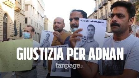 """Caltanissetta, omaggio per Adnan, ucciso per caporalato:""""Vogliamo giustizia"""""""