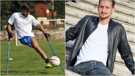 La forza di Arturo, calciatore nato con una gamba sola: aiuta gli altri a realizzare i propri sogni
