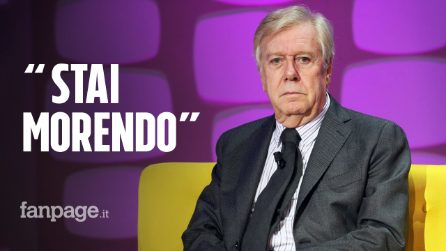 """Claudio Lippi spiazza Pierluigi Diaco e rivela: """"Il medico mi disse che stavo morendo"""""""