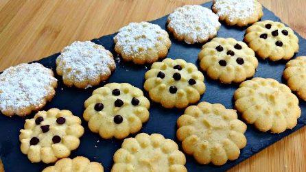 Biscotti di frolla montata: la ricetta per averli fragranti e saporiti