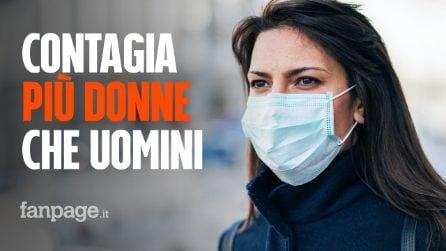 In Italia il coronavirus contagia più donne che uomini: sono il 54% del totale