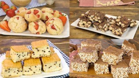 4 ricette dolci perfette una pausa golosa!