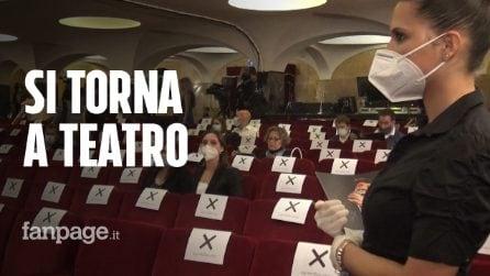 """Si torna a teatro, a Bologna c'è Morandi sul palco: """"Finalmente un po' di normalità"""""""