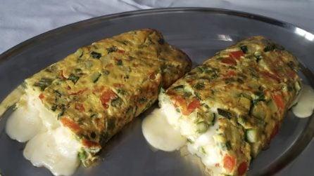Rotolo all'ortolana: la ricetta semplice e piena di gusto